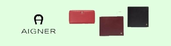 0822bf7ced7e0 Basic Glattleder - Aigner - Portemonnaies