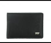 Braun Büffel Portemonnaie Golf Secure Schwarz, 90030