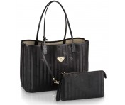 Maison Mollerus Vinerus Black Cityshopper Medium, Bern Gold