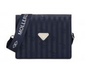 Maison Mollerus Vinerus Ocean Crossover / Umhängetasche klein, Melide Silber