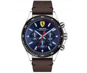 Scuderia Ferrari Pilota Uhr Edelstahl silber, 0830435