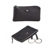 Aigner Schlüssel-Etui mit RV 153538, schwarz