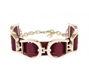 Aigner Armband Fashion Burgundy, 162023