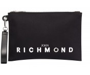 John Richmond Clutch Okland, Schwarz