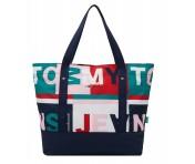 Tommy Hilfiger Shopper Tote Bag, Multicolor