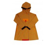 Blaest Regenmantel London 589, Orange / Print