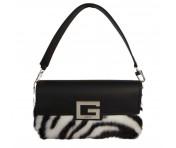 Guess Handtasche / Umhängetasche Brightside Zebra