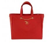 Maison Mollerus Leather Papavero Handtasche, Paradiso Gold