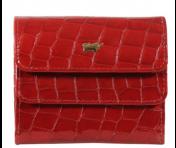 Braun Büffel Geldbörse Verona Glanzkroko Rot, 40015