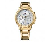 Tommy Hilfiger Damen Uhr Edelstahl gold, 1781742