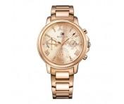 Tommy Hilfiger Damen Uhr Edelstahl roségold, 1781743