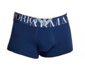 Emporio Armani Herren Boxershorts Trunk, Marine 111389