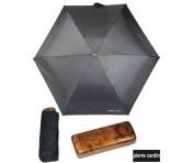 PIERRE CARDIN Regenschirm MYBRELLA holzoptik