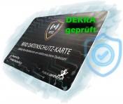 MakakaOnTheRun RFID NFC Blocker Karte, Schwarz