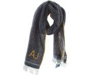 Armani Jeans Schal 934086, blu navy/giall