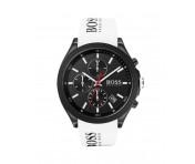 Hugo Boss Herren Uhr Velocity Silikon Weiß, 1513718