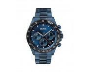Hugo Boss Herren Uhr Hero Edelstahl Blau, 1513758