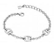 Aigner Logo-Armband, silber, A67069