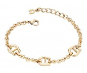 Aigner Logo-Armband, gold, A67070