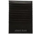 Armani Jeans Kreditkartenetui 928504, schwarz
