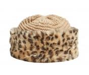 Guess Mütze, Leopard / Beige