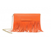 Boutique Moschino Schultertasche / Clutch, Orange