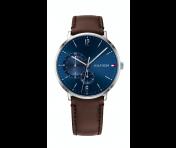 Tommy Hilfiger Herren Uhr Leder braun, 1791508