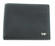 Braun Büffel RFID Portemonnaie Turin schwarz, 60103S