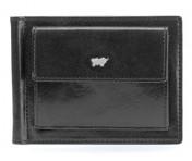 Braun Büffel Geldbörse Dollarclip Gaucho, schwarz 33007