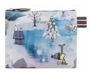 Codello Kosmetiktasche / Clutch Peanuts / Snoopy, Grau 02111102