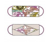 Codello Cover Up / Gesichts-Maske Heraldic Lining Cotton, Pink CU20304-20