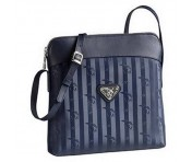 Maison Mollerus Vinerus Ocean, Schultertasche / Cross Over Bag Dakar silber