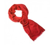 Roeckl Schal Ring Pashmina, coral