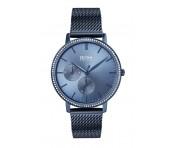 Hugo Boss Damen Uhr Infinity Edelstahl Blau, 1502518