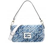 Guess Handtasche / Umhängetasche Brightside Denim