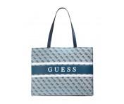 Guess Handtasche Monique Blau