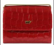 Braun Büffel Bügelbörse Verona Glanzkroko Rot, 40200