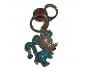 Love Moschino Taschen- / Schlüsselanhänger, Maus, Gold