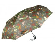 Pierre Cardin Regenschirm Easymatic light, Indian Summer / Olivgrün