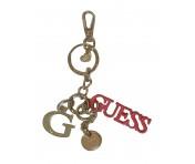 Guess Taschen- / Schlüsselanhänger Becca Pink