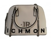 John Richmond Handtasche / Umhängetasche Daigua, Weiß