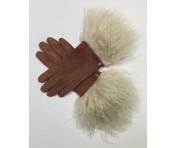 Roeckl Handschuhe Lammfell Gr. 7,5