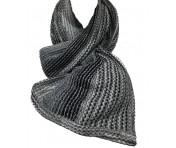 Missoni Schal Stardust schwarz / weiß