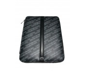 Emporio Armani All-Over Print Ipad Case Lavagna/Nero, Y4R175
