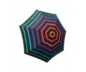 Happy Rain Taschenschirm gestreift multicolor, 46852B