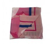 Boutique Moschino Tuch rosé gemustert, 03525