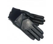 Roeckl Lederhandschuhe dunkelblau , Größe 7