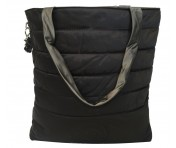 Kipling Wendeshopper Double Puff, Mountain Black