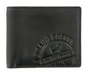 Braun Büffel Kartenbörse Parma LP Querformat Schwarz, 57246