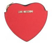 Love Moschino Geldbörse Herzförmig, Rosso